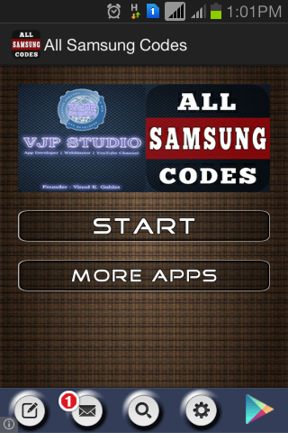 All Samsung Codes
