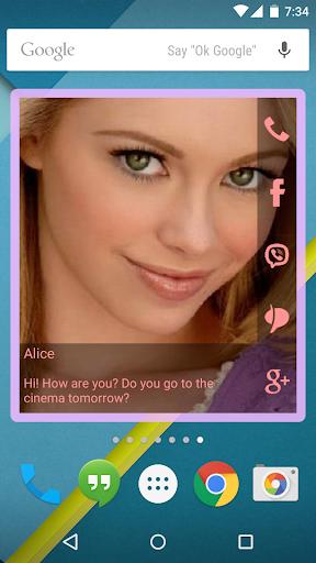 無料个人化Appのお問い合わせのHDウィジェット|記事Game