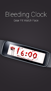 Bleeding Clock for Gear Fit