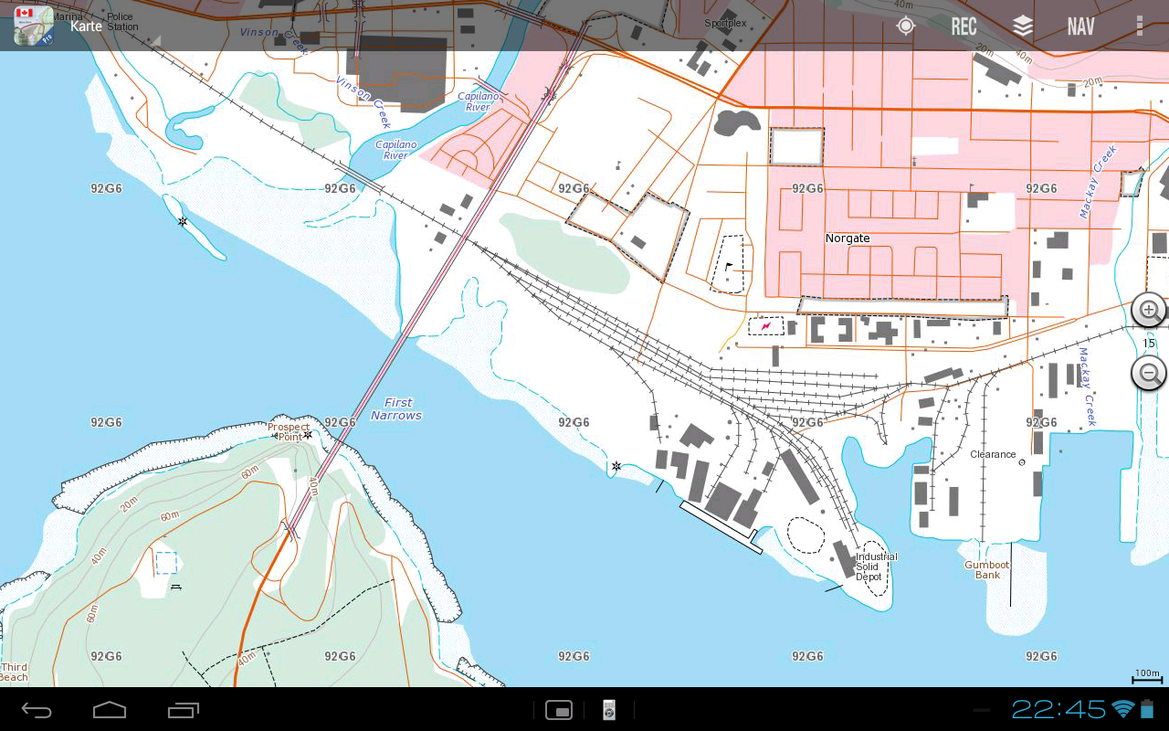 Canada Topo Maps Pro - screenshot