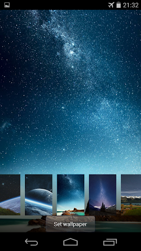 【免費個人化App】Stars live wallpaper locker-APP點子