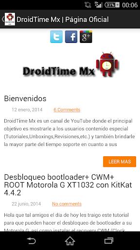 DroidTime Mx