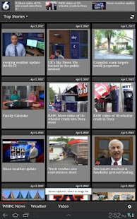 WBRC TV News FOX6 for Tablets - screenshot thumbnail