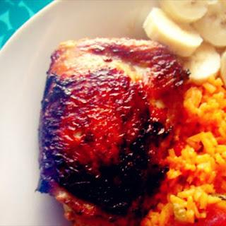 Pan Fried Black Cherry Chicken