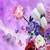 3D Flower Live Wallpaper