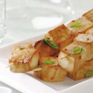 Indonesian Tofu Satés