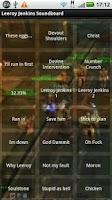 Screenshot of Leeroy Jenkins Soundboard