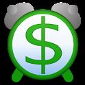 Time Is Money Alarm Clock logo