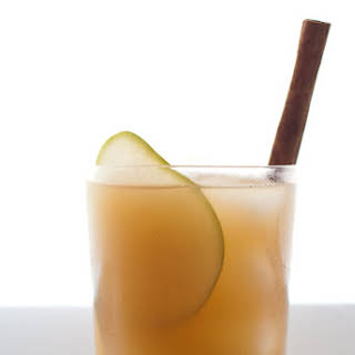 Pear Nectar and Reposado Tequila Cocktail.