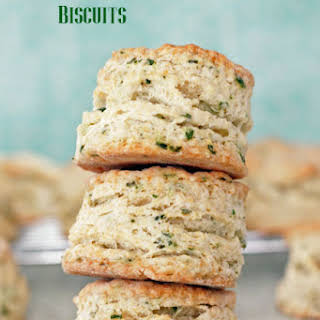 Sour Cream and Chive Biscuits.
