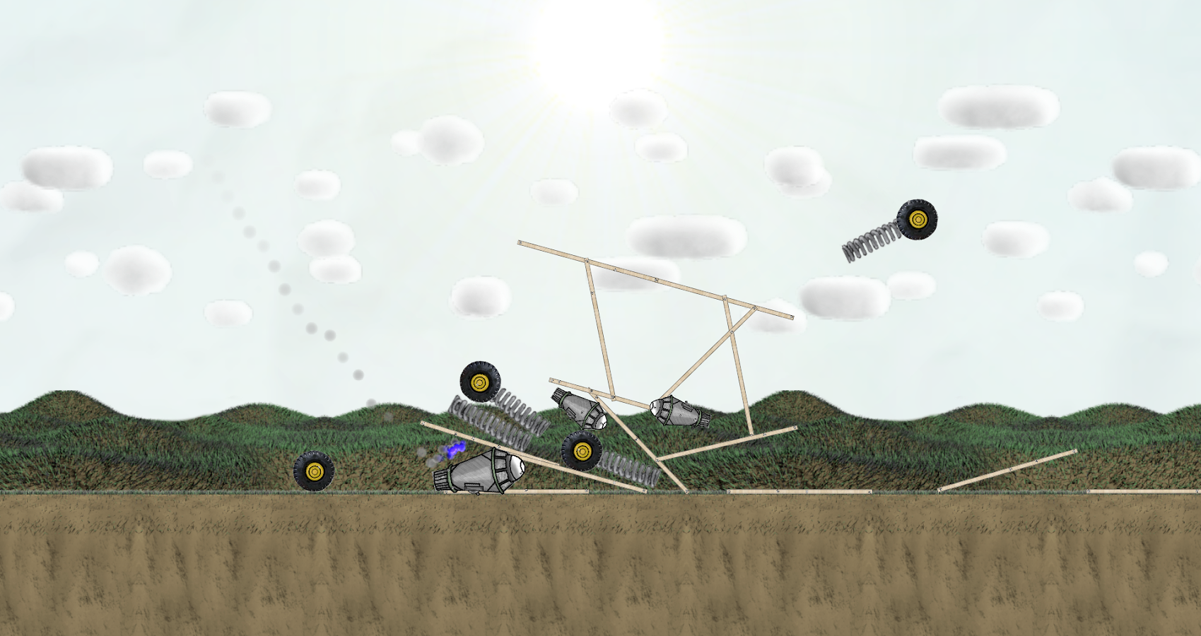 Super Contraption- screenshot