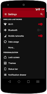DarkOut CM12 / CM11 Theme v3.1