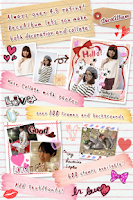 Screenshot of DecoAlbum Purikura Camera
