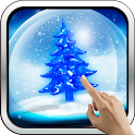 Snowy Christmas Tree HD 3D LWP icon
