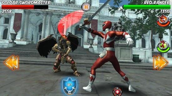 power rangers games