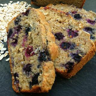 Blueberry Oatmeal Bread.