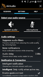 AirAudio - AirPlay for Android - screenshot thumbnail