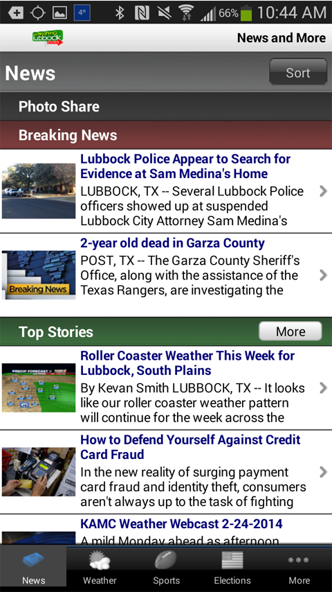 EverythingLubbock KLBK KAMC - screenshot