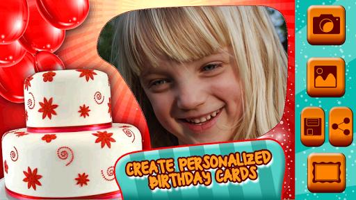 生日快乐 可爱的图片 相框