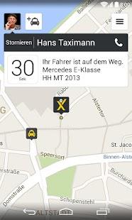 mytaxi – Die Taxi App - screenshot thumbnail