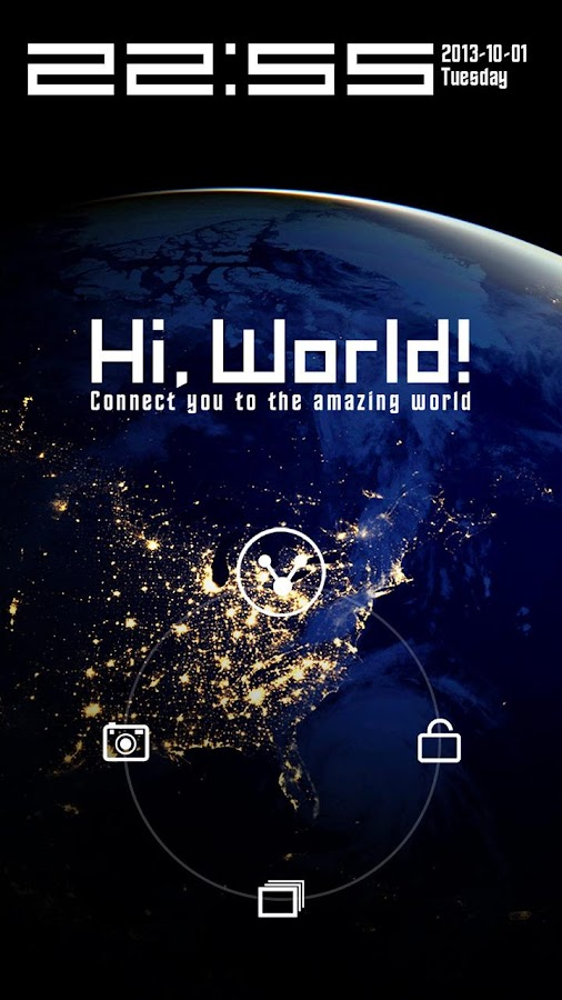 Hi,World!- screenshot