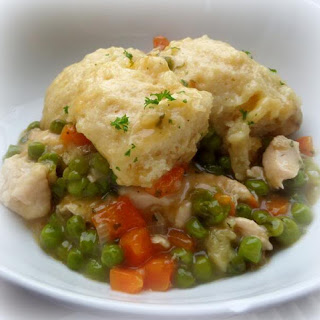 Chicken and Cheesy Dumplings