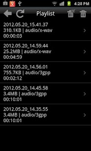 Legendary Voice Recorder Lite - screenshot thumbnail