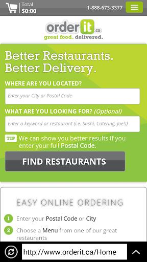 【免費購物App】Food on Click- Canada-APP點子