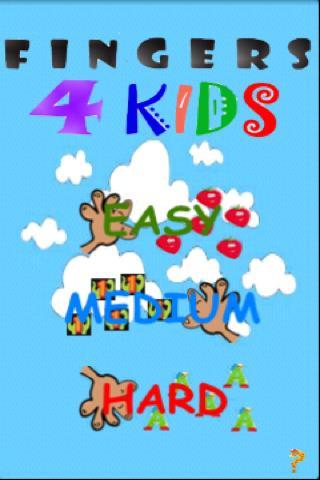 Fingers 4 Kids Free- screenshot