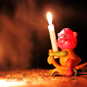 by Afandi Nugroho - Abstract Fire & Fireworks ( candle )