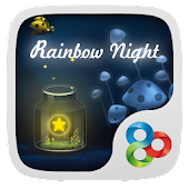 Rainbow Night GO Super Theme