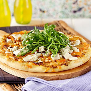 Roasted Pumpkin and Feta Pizza