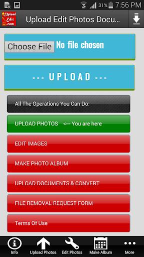 Upload Edit Photos & Documents v2.0