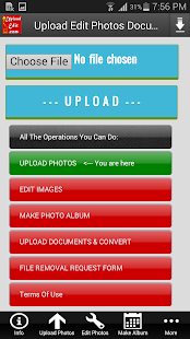 Upload Edit Photos & Documents- screenshot thumbnail