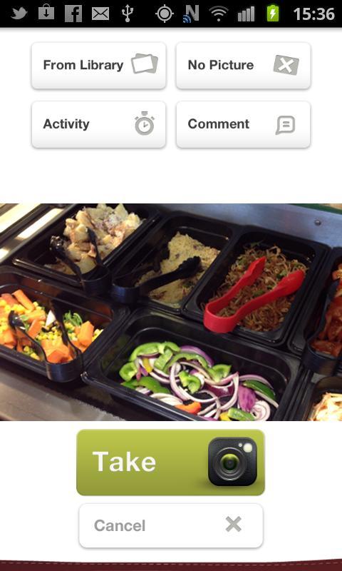 My Food Circle- screenshot
