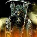 Hellish Grim Reaper LWP FREE icon