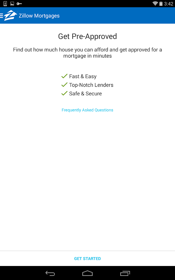 Zillow Mortgage Calculator - screenshot