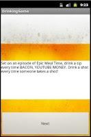 Screenshot of Drikkelek - Support