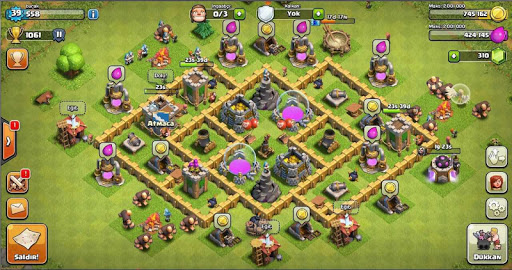 Defense Map For COC