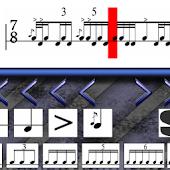 Drum Sticking Notation