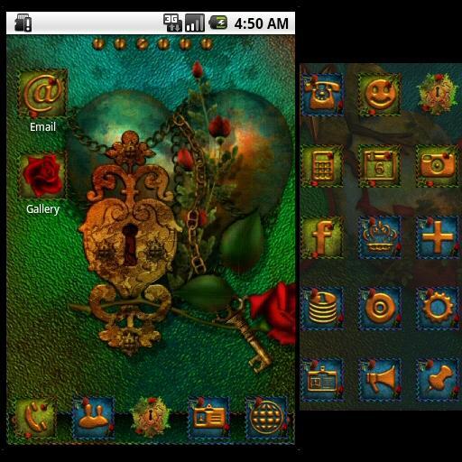 GO發射器:哥特之心 個人化 App LOGO-APP試玩