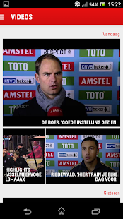 Ajaxfans - screenshot thumbnail