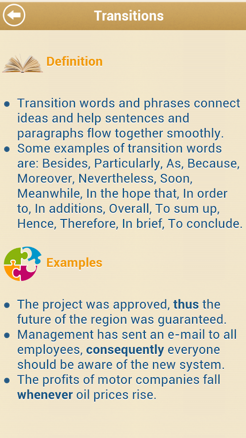 Grammar Up - screenshot