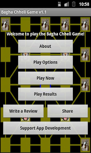 Bagha Chheli Tiger Goat Game