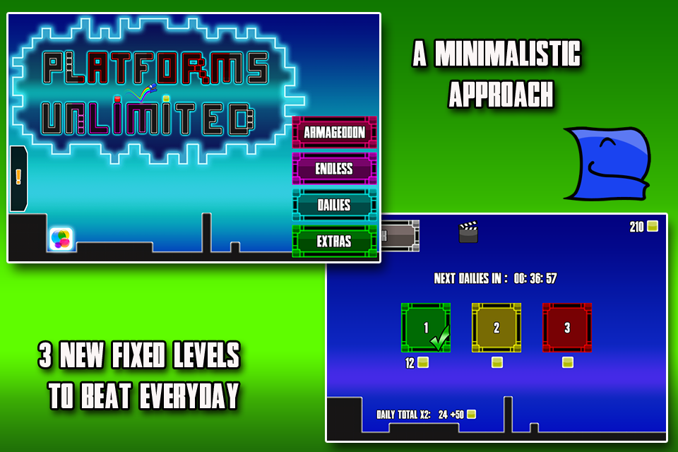Platforms Unlimited - screenshot