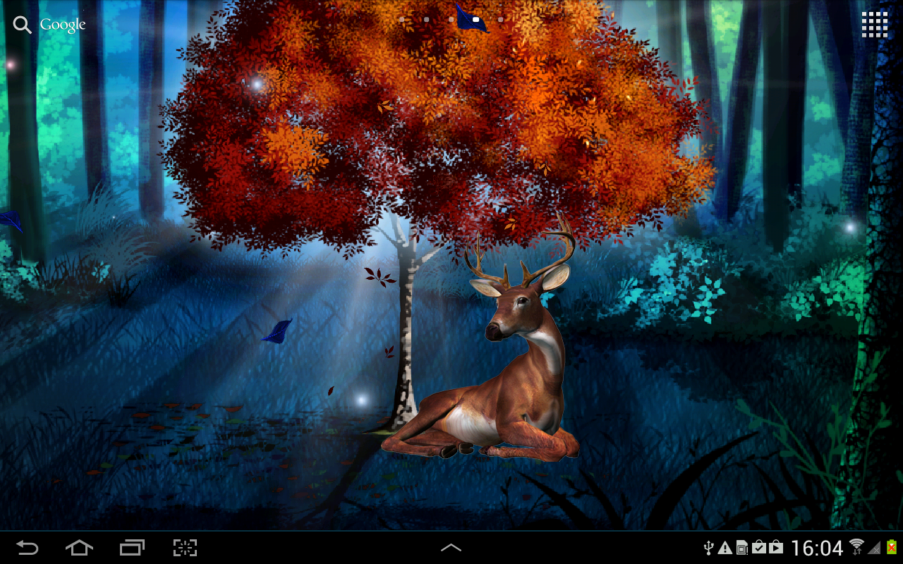 magic forest live wallpaper - android apps on google play