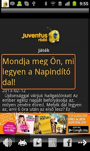 Juventus Rádió - screenshot thumbnail
