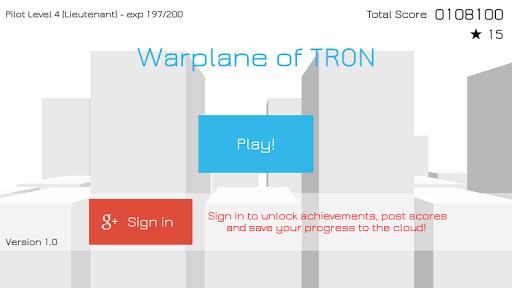 Warplane of TRON