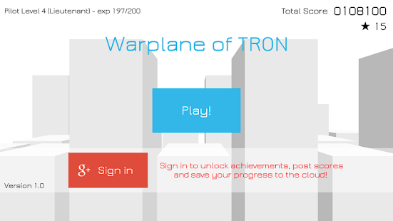 Warplane of TRON