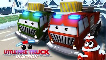 Screenshot of Little Fire Truck in Action